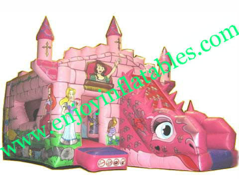 YF-inflatable princess combo-96