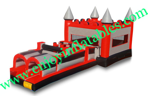YF-obstacle course bounce house-129