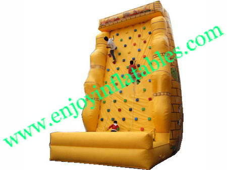YF-inflatable climbing wall-47