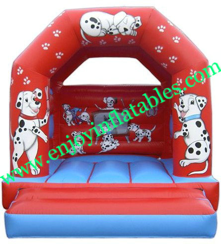 YF-dog inflatable bouncy castle100