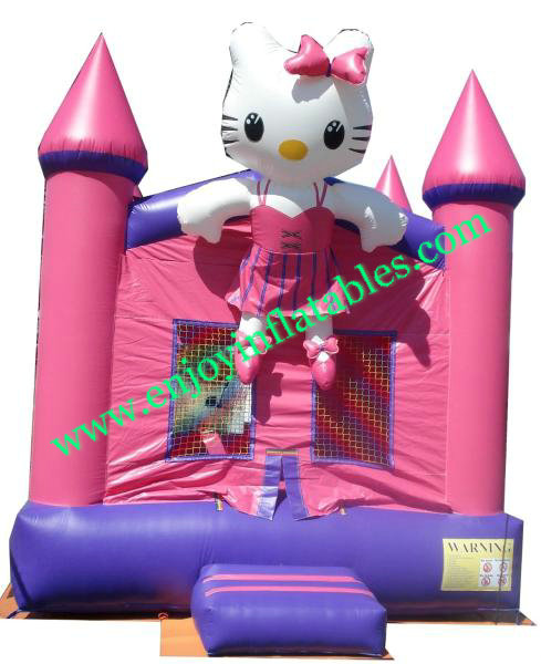 YF-hellokitty bounce house-101