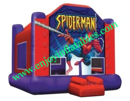 YF-inflatable bouncer spiderman-54