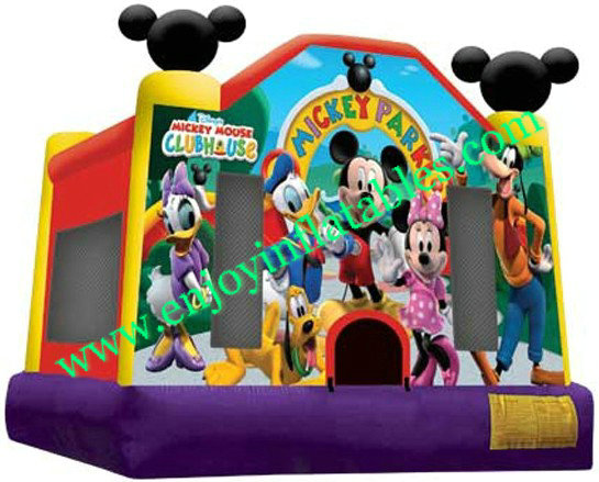 YF-mickey mouse inflatable bounce house-53