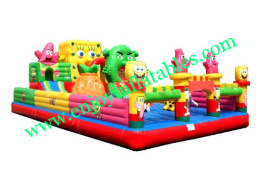 YF-spongebob inflatable playground -59