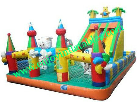 YF-inflatable playground slide-56
