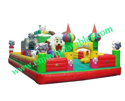 YF- inflatable playground-53