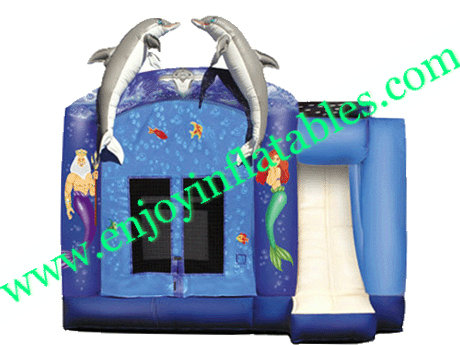 YF-commercial inflatable combo-26
