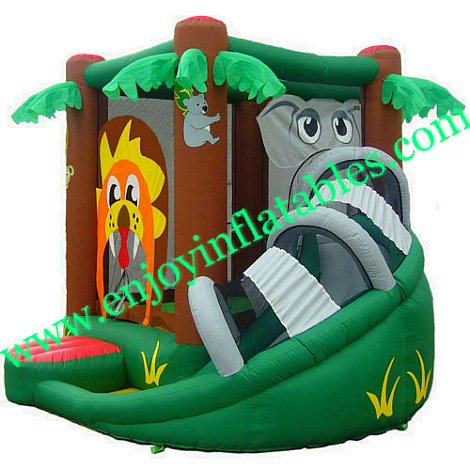 YF-inflatable bouncer combo-38