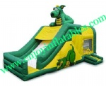YF-inflatable castle slide combo-119