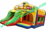 YF-inflatable castle slide combo-120