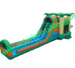 YF-inflatable castle slide combo-136
