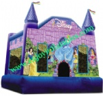 YF-inflatable princess bouncy castle-102