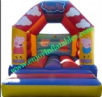YF-peppa pig inflatable bouncy castle99