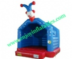 YF-inflatable clown bounce house-96