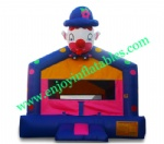 YF-inflatable clown bounce house-95