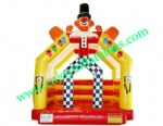 YF-inflatable clown bounce house-94