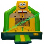 YF-spongebob inflatable bounce house-51