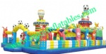 YF-football inflatable playground-51