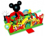 YF-mickey inflatable playgrounds-11
