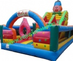 YF-clown inflatable fun city-04