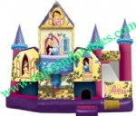 YF-princess inflatable bouncer combo-39