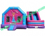 YF-giant inflatable combo slide-86